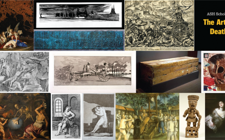 Collage of pieces from the MU Museum of Art & Archeology's