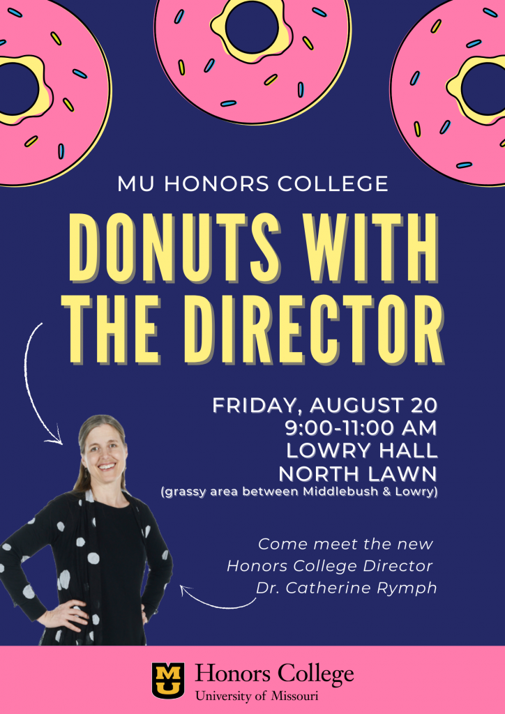 Donuts with the Director