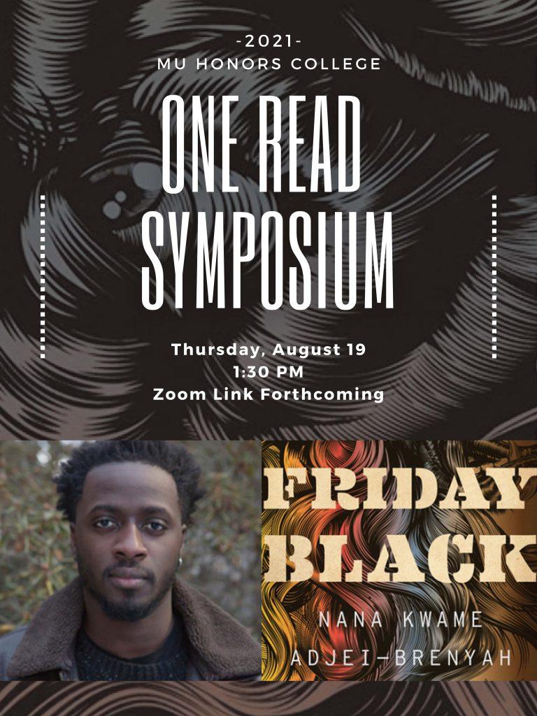Friday Black Symposium Flyer