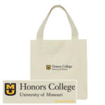 Beige Honors College Tote Bag