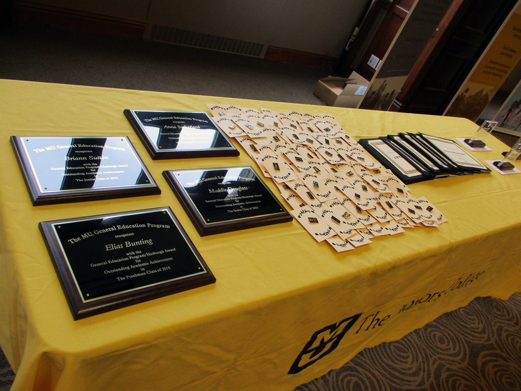 2018 Honors College Awards