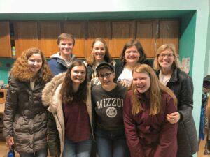 Mizzou's Stamps Scholars volunteering at Rainbow House