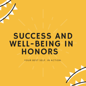 Success and Well-Being in Honors graphic