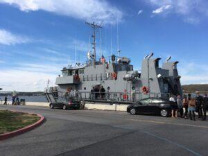 Yard patrol ship