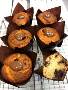 Chocolate Magdalenas (Spanish muffins)