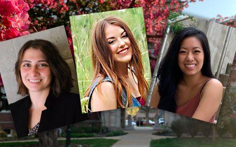 Hesburgh Scholarship portrait collage